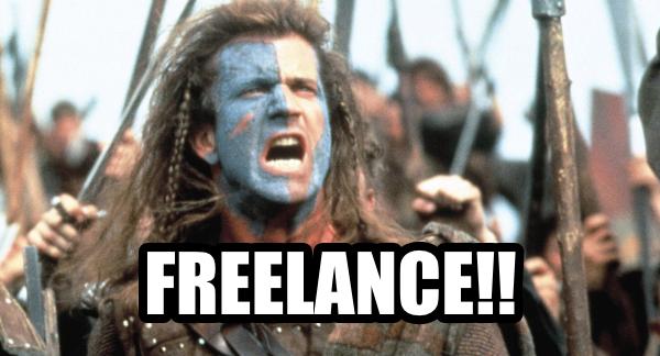 Braveheart freedom/freelance